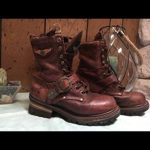 Hanley Davidson women's boots